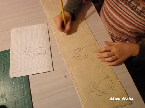 disegnare i coniglietti