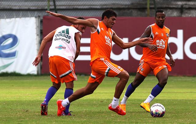 Fluminense: Cristóvão comanda treino tático e esboça time titular para jogo contra o Tigres