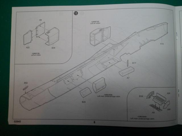 Ouvre boîte Shenyang J-8 II Finback B [Trumpeter 1/48] 16712657049_ff13ac47ee_o