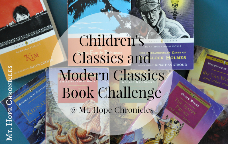 Children's Classics and Modern Classics Book List Challenge @ Mt. Hope Chronicles