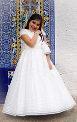 child, bridal party dress, gown, clothing, flower girl, female, person, dress,