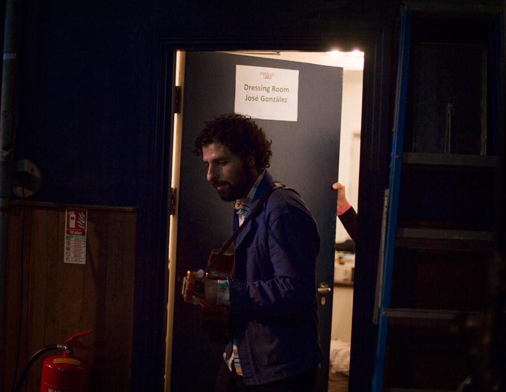 Behind The Scenes with Jose Gonzalez