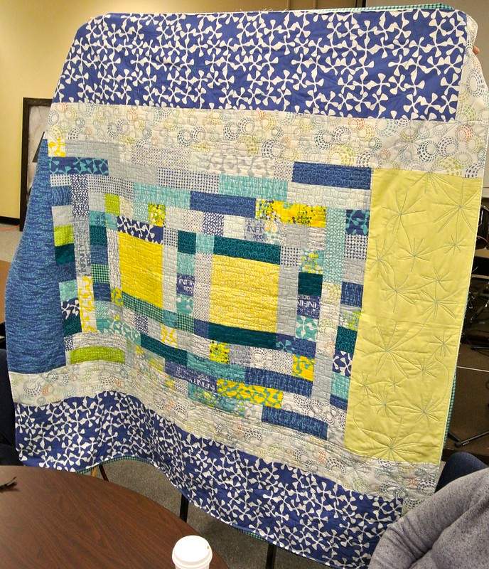 Micha's Gift Quilt back