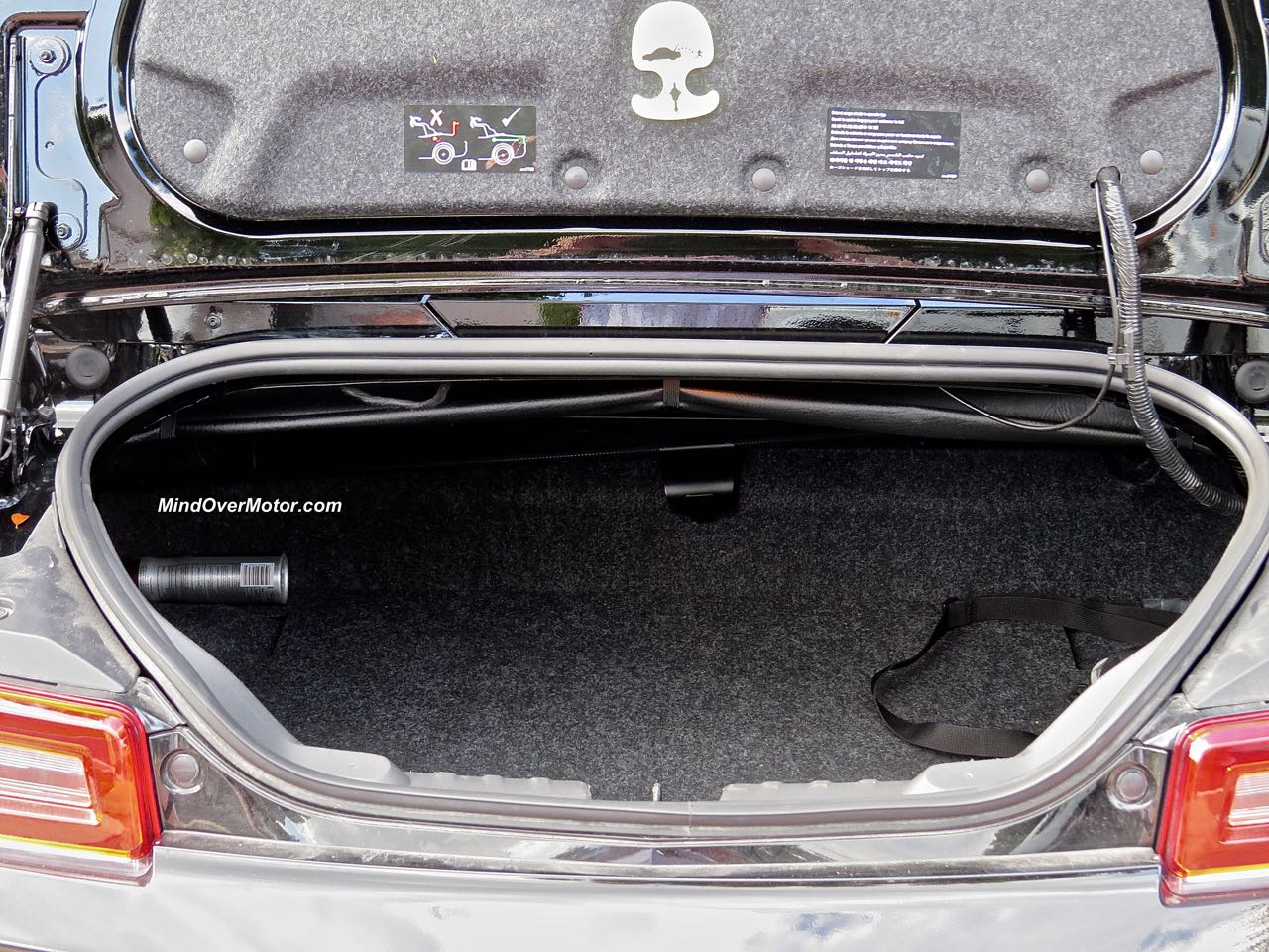 2015 Chevrolet Camaro Convertible Trunk