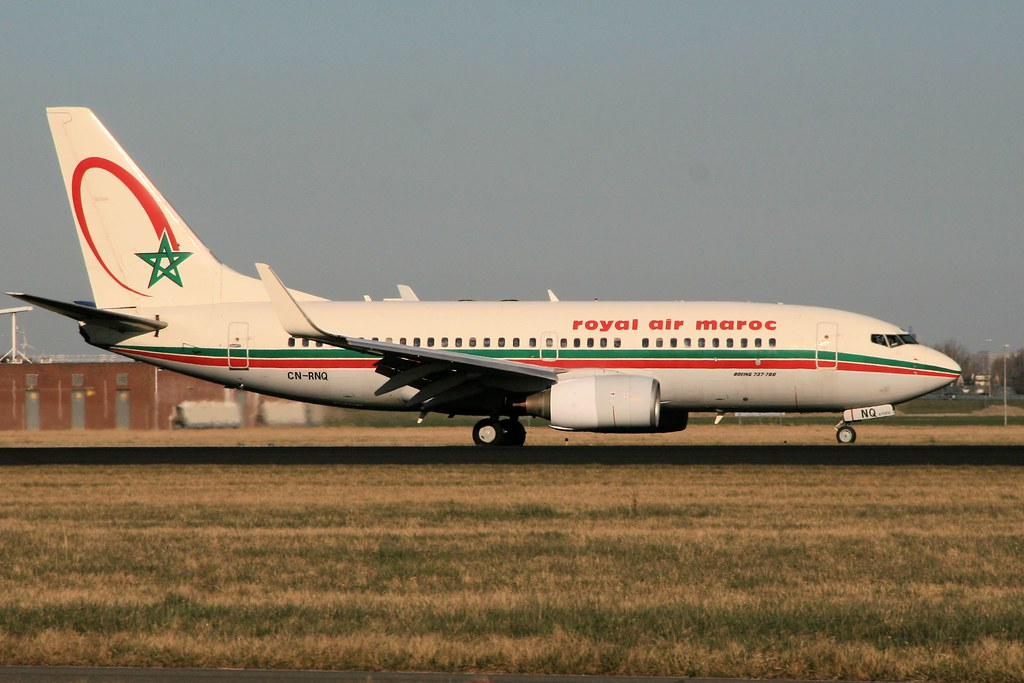 CN-RNQ - B737 - Royal Air Maroc