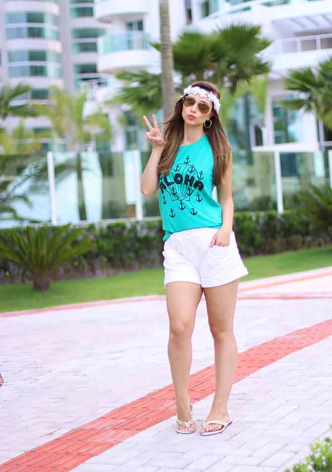 02-look regata aloha chic-t e coroa de flores blog sempre glamour jana taffarel