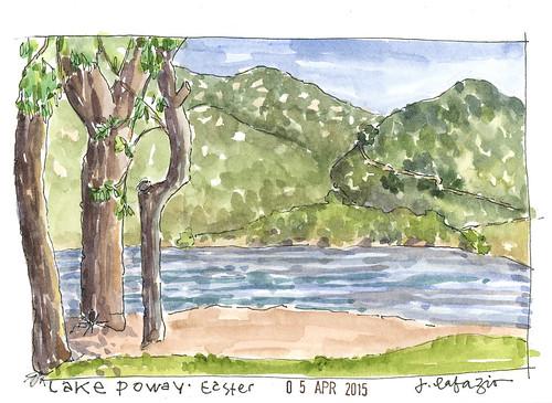 Lake Poway easter 2015