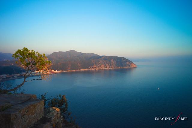 Punta Baffe's view from Punta Manara