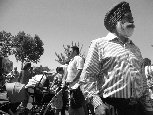 Street Candid at Indian Festival