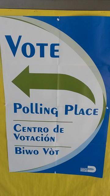 Miami Dade Vote Today