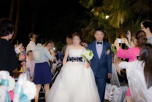 推薦婚宴場地:台南商務會館,米老鼠米奇的特殊結婚婚禮風格新人一進2