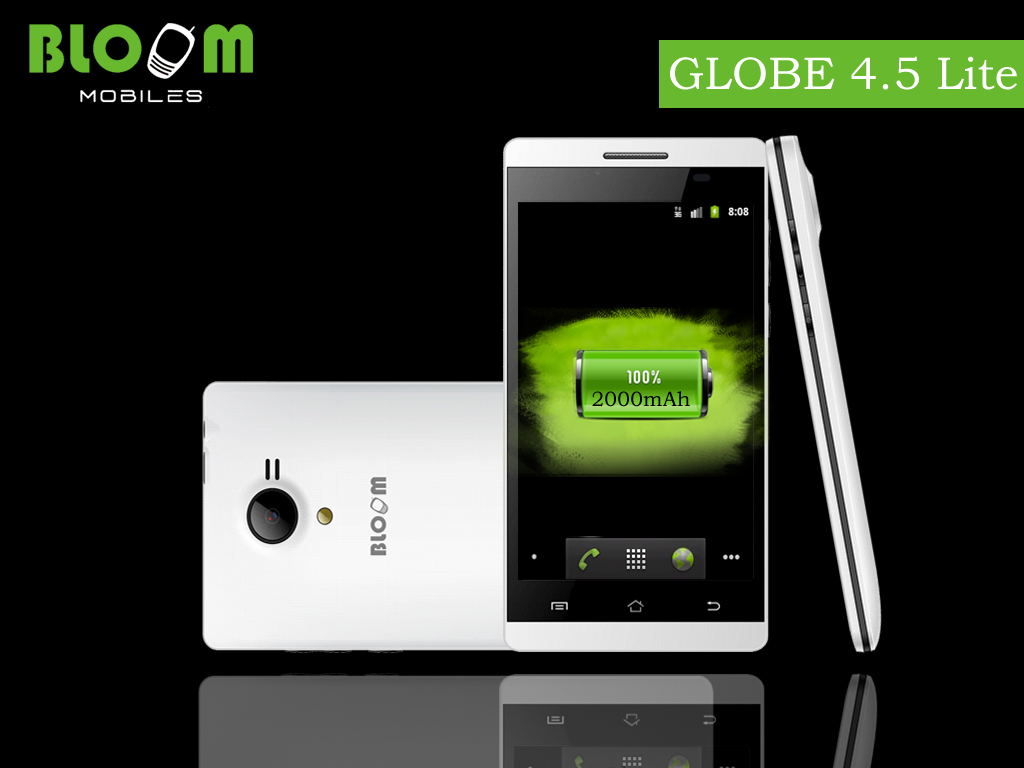 Bloom Smartphone GLOBE  4.5 Lite
