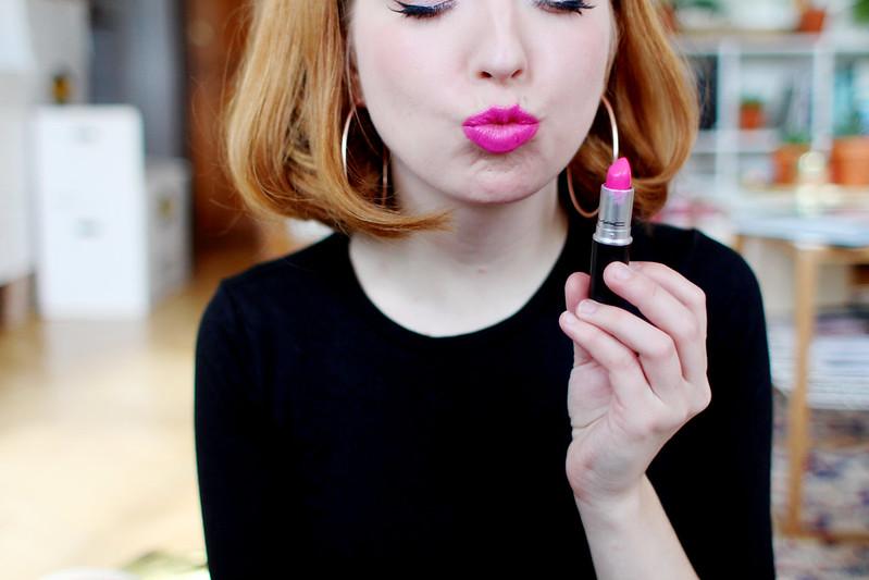 lipsticks.