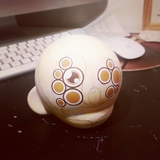 Munny in progress to the ToyCon UK