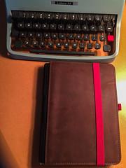 Roterfaden and Olivetti typewriter