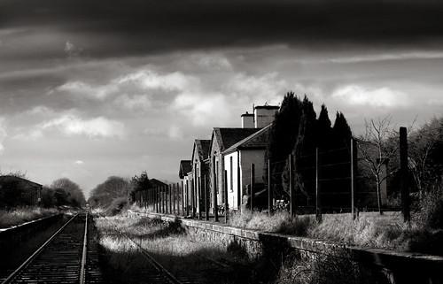 Abandoned Station, Castletown, Co Westmeath, Ireland.