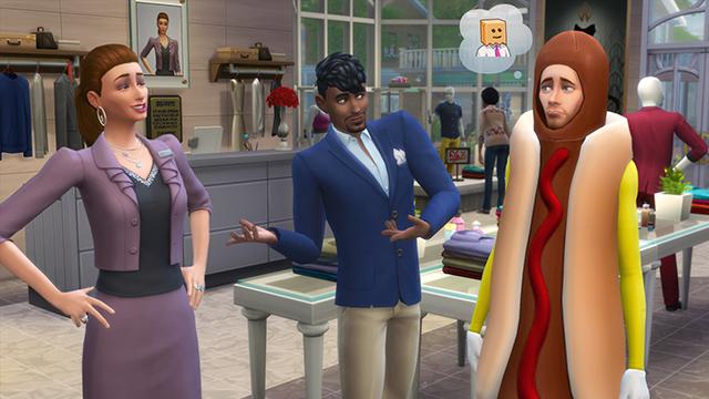 Sims 4 Boutique