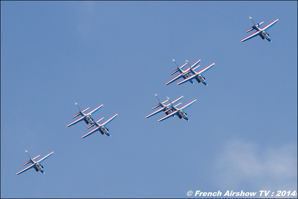 Patrouille de France, Meeting Aerien BA-133 Nancy Ochey 2014