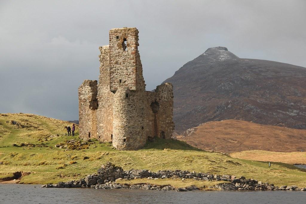 Castillo Ardvreck en Sutherland