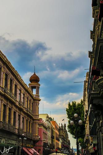 Puebla streets, Mexico