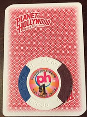 Planet Hollywood chip & card 2014
