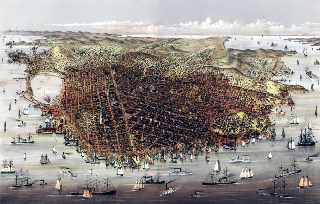 The City of San Francisco, 1878