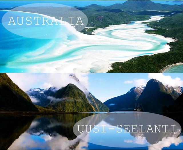 australia ja uusiseelanti