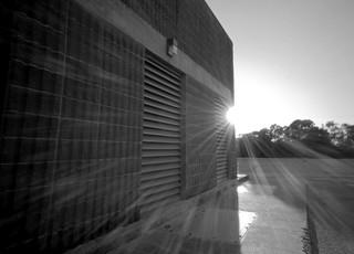 Sun-flare Holga Pinhole