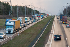 Highway Vilnius-Kaunas