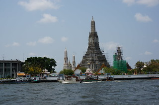 Wat Arun under repair
