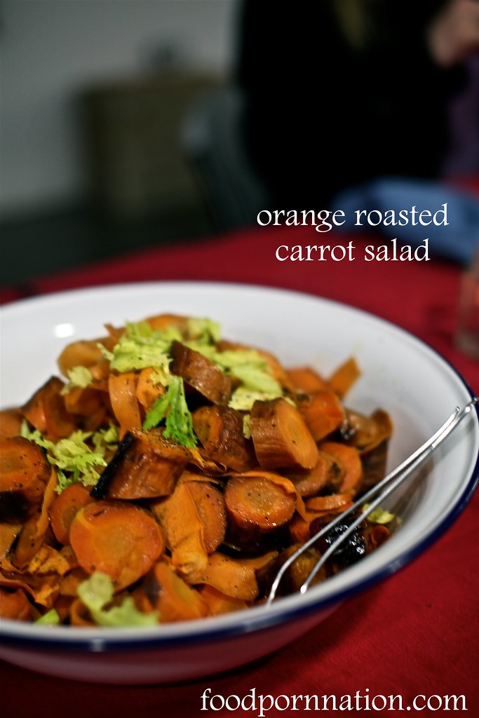 London Food Blog - Startisans, Covent Garden - Tasting Room, orange roasted carrot salad