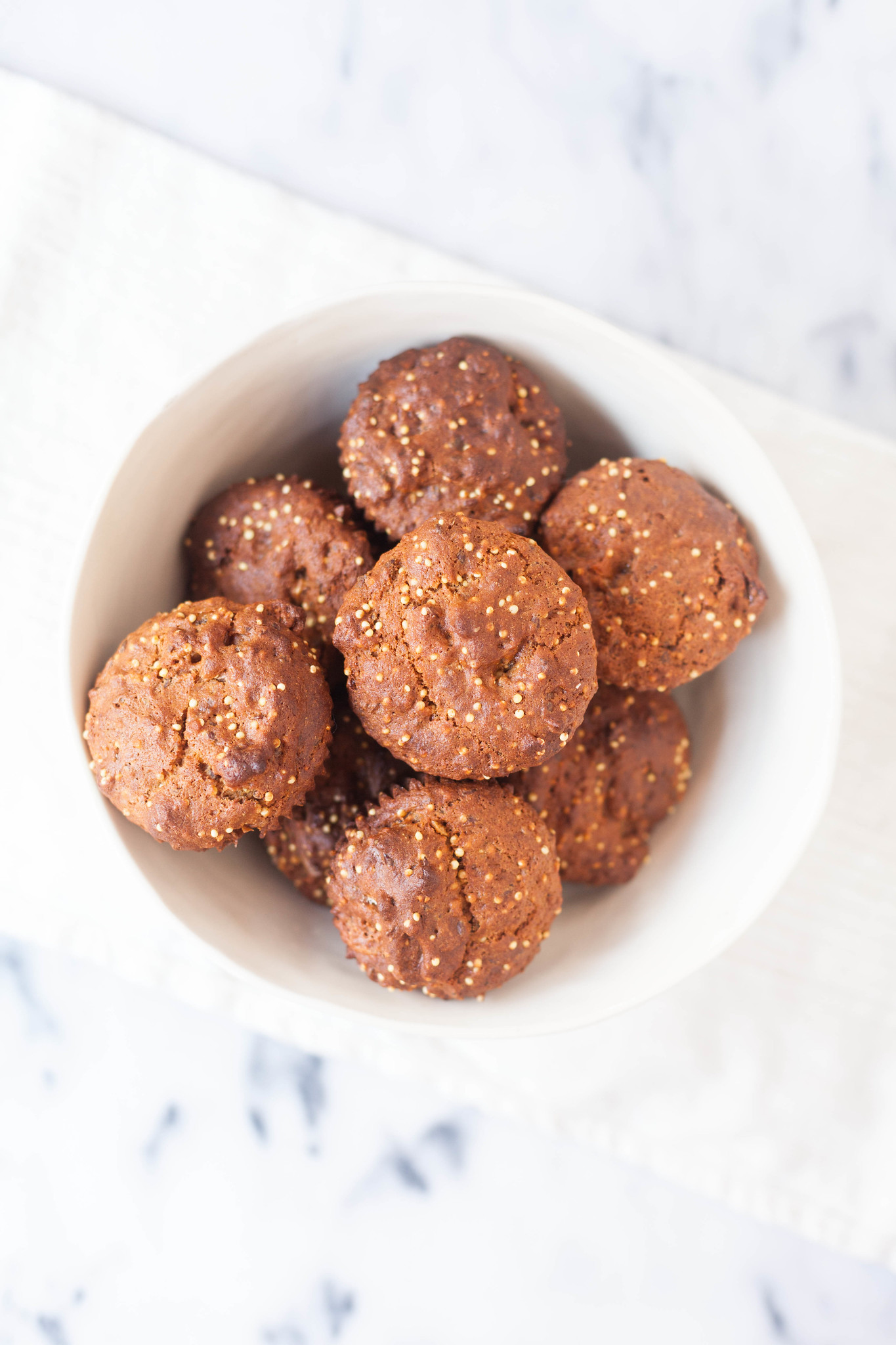 fig and millet muffins (gluten-free)