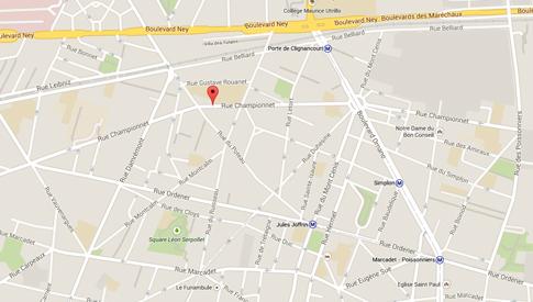 15c09 Mapa rue Ordener
