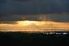 Foggy Golden Sunrise