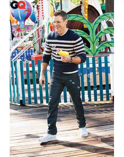 Matt Damon January 2012
