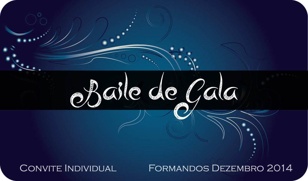 Convites Baile Gala 2014 Criaçao De Convite Para Baile De Flickr