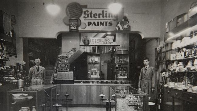 Cornwell's Paint Shop opened in 1928. Photo supplied: Cornwell's Mitre 10