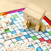 Danbo one player Scrabble. #danbo #danboard #revoltech #scrabble