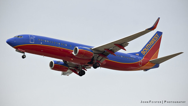 Southwest N8311Q - Indianapolis International Airport