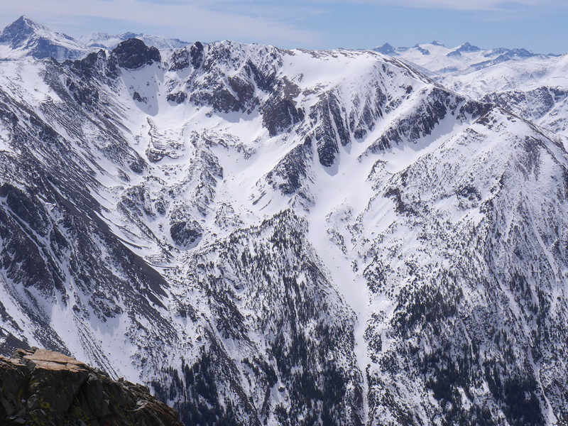 Looking south into Lundy Canyon