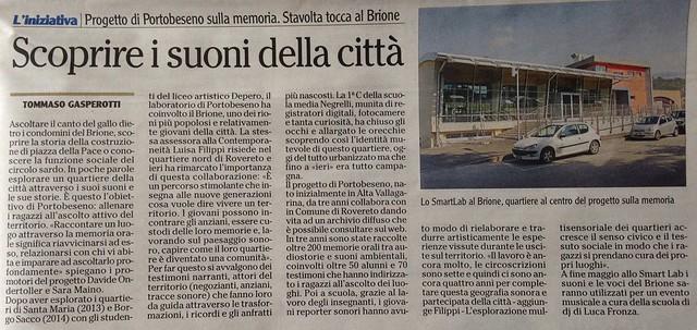 l'Adige 20 marzo 2015