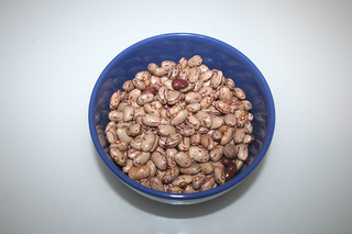 01 - Zutat Borlotti-Bohnen / Ingredient borlotti beans