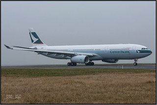 "Airbus 330-300 Cathay Pacific  ""B-BLK""   /  5638"