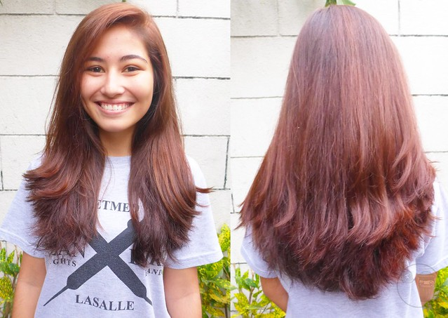 review on revia hair color by verona