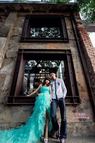 高雄婚紗推薦_高雄京宴婚紗_如何依身型挑選適合的婚紗禮服_矮+瘦 (3)