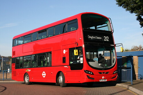 Tower Transit VH38106 on Route 212, Chingford Station