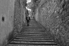 Lake Como - Bellagio stairs