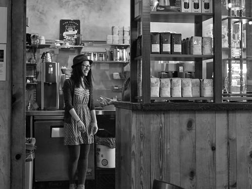 coffee girl