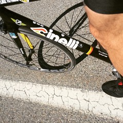 Will you go out for a ride today? #training #Track #cinelli #vigorelli #nevergiveup #outsideisfree #cycling #pushHard #daje