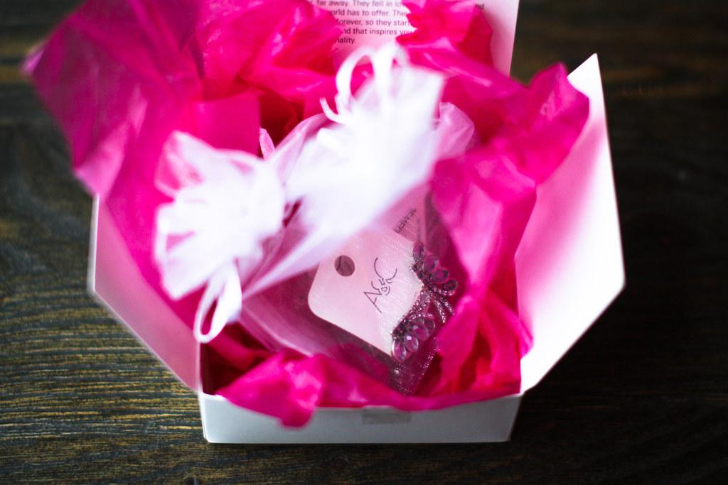 Rosa gavepapir
